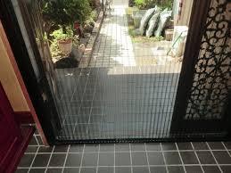 玄関網戸取付 施工例 名古屋