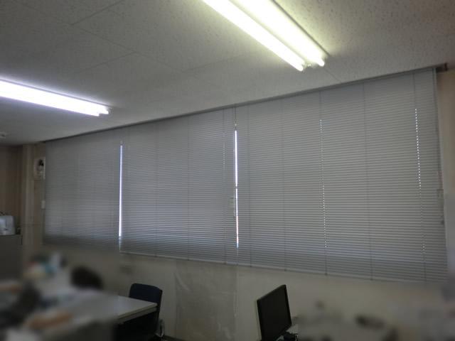 夏場の日差し対策に ブラインド取替工事 施工事例 名古屋
