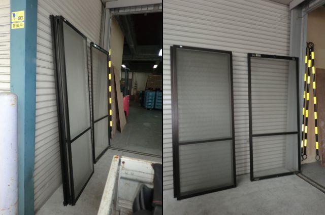 エントランスドアのフロアヒンジ取替工事 施工例 名古屋