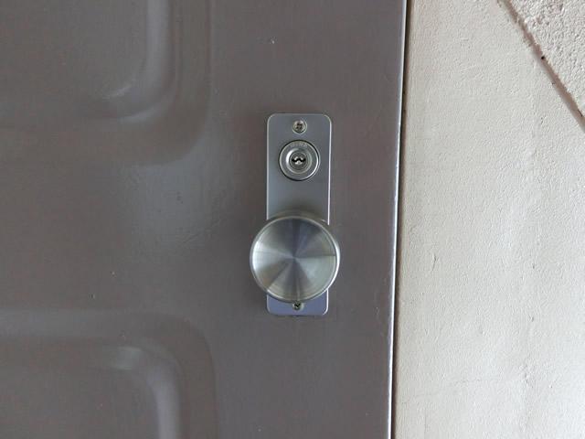 マンションドアの錠前取替工事 施工例 名古屋