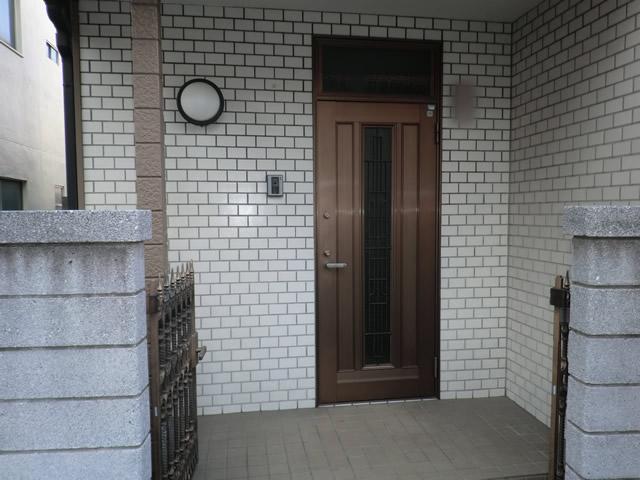引違い窓クレセント交換 不二サッシ製ビル用サッシ 施工例 名古屋