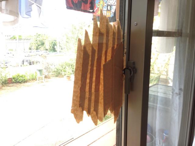 ガラス割替え工事 空き巣被害による掃出し窓のガラス破り 名古屋