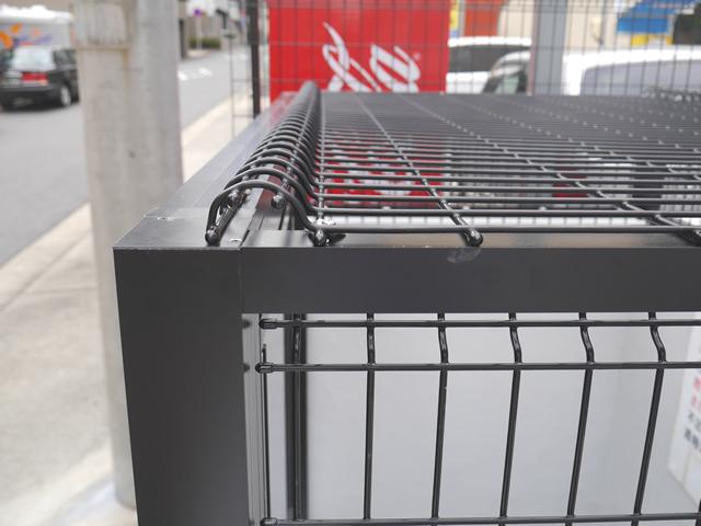 マンションゴミ置き場改修工事 メッシュ引戸タイプ 施工事例 名古屋