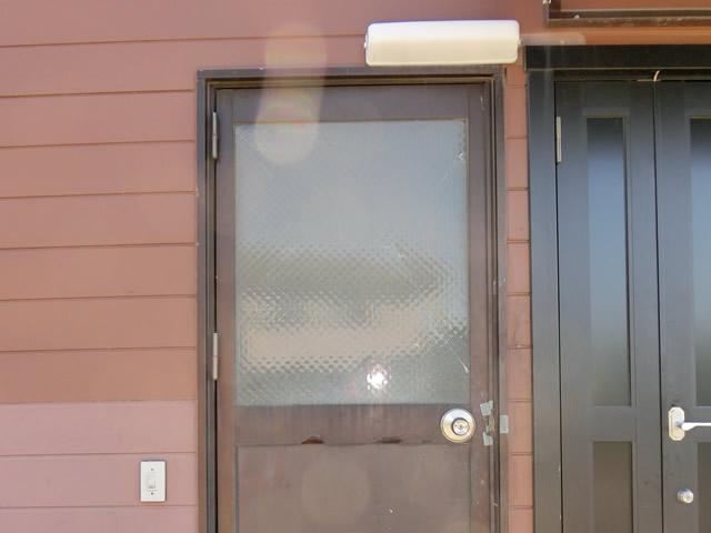 事務所ドアの防犯対策工事 施工事例 名古屋市中川区