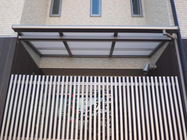 テラス屋根新設工事 ライザーテラスⅡ 【施工後】 名古屋市天白区