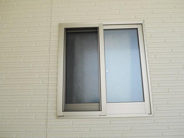窓の防犯対策 ヒシクロス面格子 施工事例 名古屋市天白区
