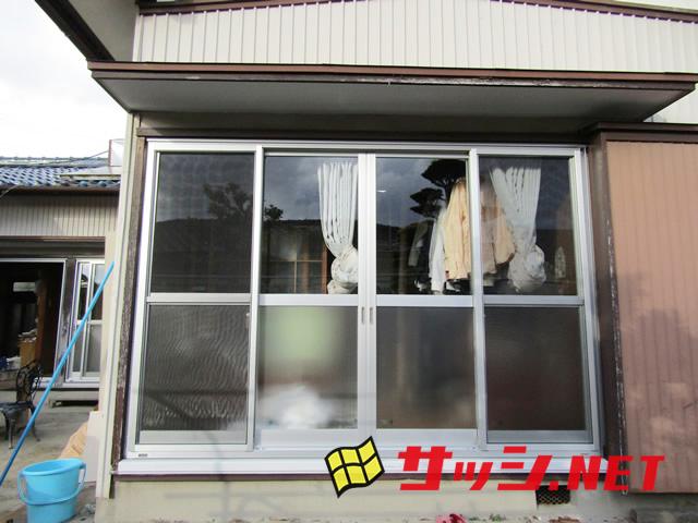 窓のリフォーム カバー工法によるサッシ改修工事 施工事例 知多郡東浦町