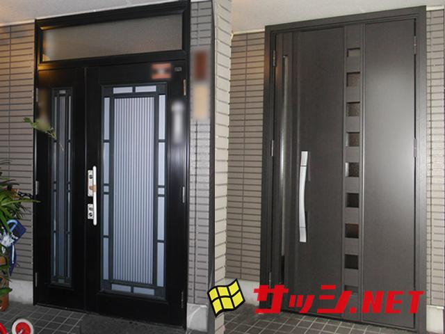 玄関のリフォーム LIXILリシェントⅡ 施工事例 名古屋市南区