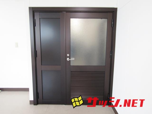 事務所ドア取替工事 施工事例 名古屋市中区