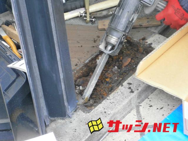 フロアヒンジ取替工事 ニュースター S222 施工事例 名古屋市天白区