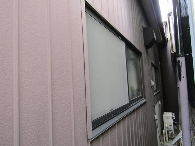 面格子工事の施工前の状態(名古屋市千種区)