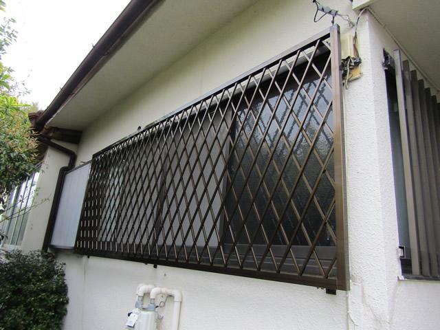 面格子工事の施工事例(名古屋市千種区)