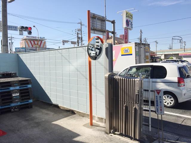 名古屋市緑区 N社様 カーブミラー取付工事 施工後