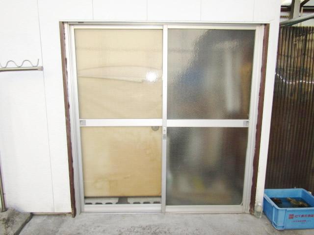 名古屋市港区 K様邸 引違いサッシのガラス割れ 修理工事 施工後①