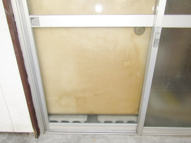 名古屋市港区 K様邸 引違いサッシのガラス割れ 修理工事 施工後②