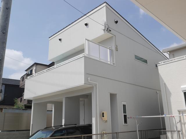 名古屋市天白区 LIXIL スピーネ2階ベランダ目隠し工事 施工後③