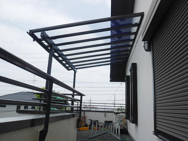 名古屋市緑区 LIXIL パワーアルファ 2階テラス工事 施工後