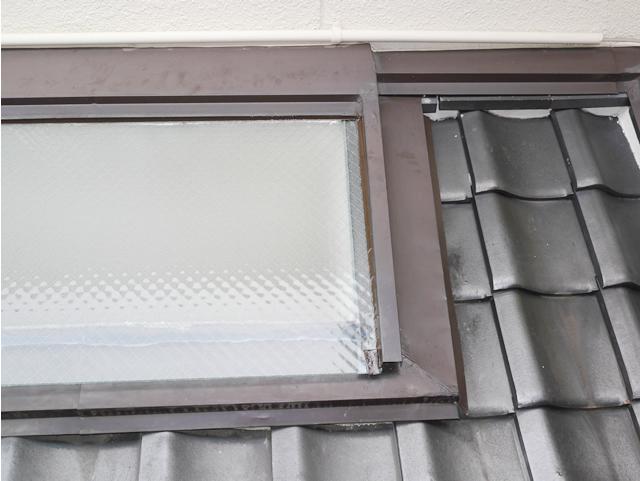 名古屋市中川区 トップライトガラス 割れ替え 修理 施工後②