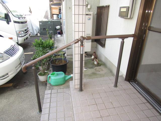 名古屋市港区 LIXIL ガードウォカー 手摺り取付工事 施工後