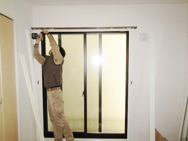 名古屋市守山区 大信工業 内窓プラスト NT型 取付工事 施工中