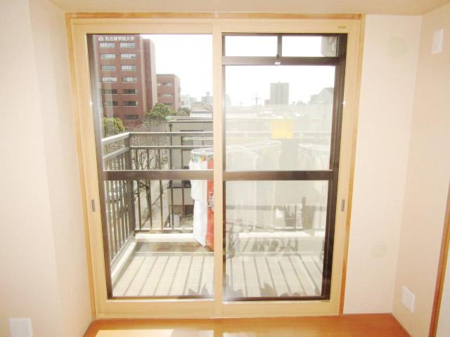 名古屋市熱田区 リクシル 内窓インプラス 引違い窓 ペアガラス 取付工事 施工後