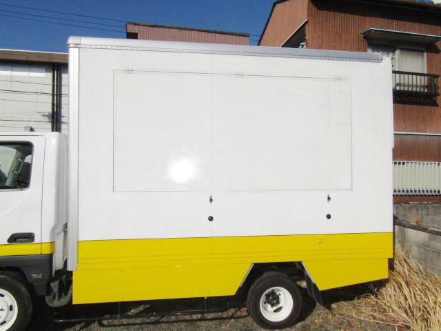 名古屋市 移動販売用車両(キッチンカー) 網戸取付工事 施工前