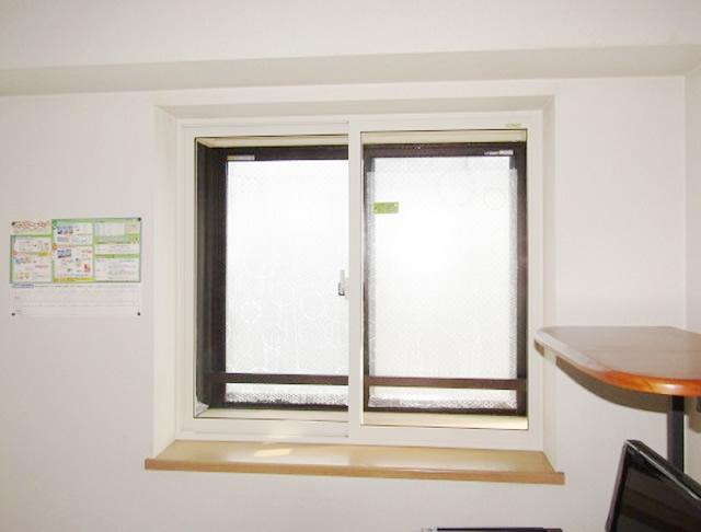 名古屋市名東区 出窓 内窓インプラス 引違い窓 シングルガラス5mm  施工後