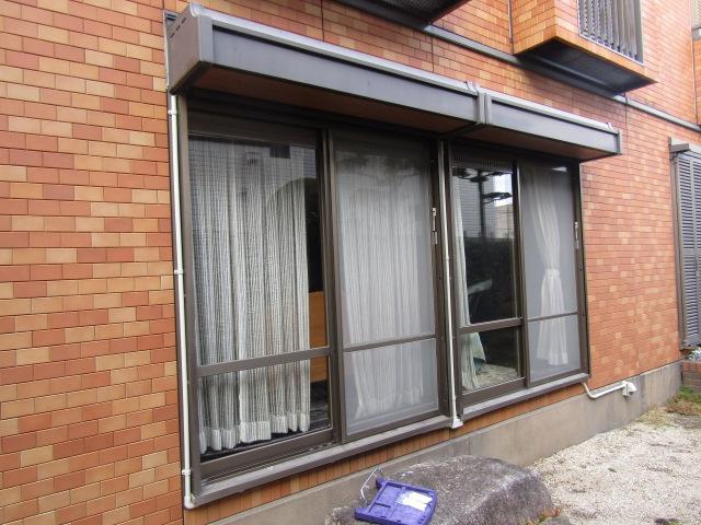 名古屋市昭和区 手動窓シャッター電動化工事 ソムフィキット 施工中