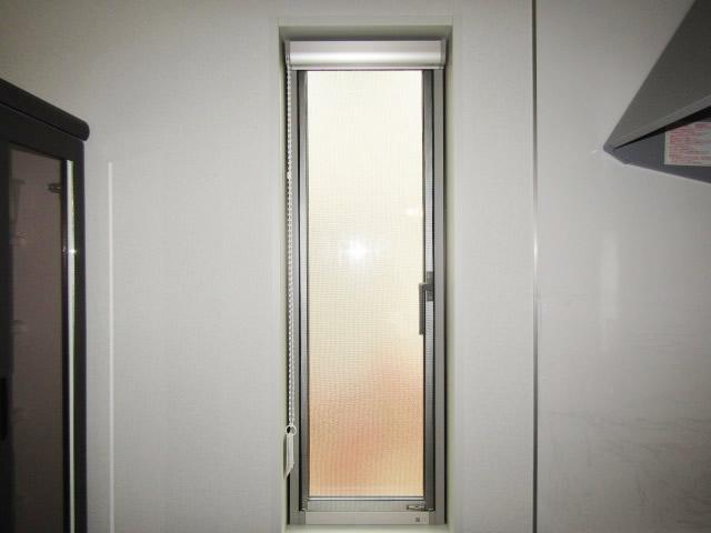 江南市 リクシル 室内面格子 固定式 ホワイト 取付工事 施工前
