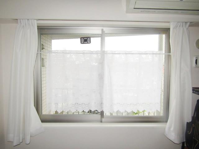 名古屋市瑞穂区 内窓プラスト NT型 ホワイト 合わせ真空ガラス スペーシア静 施工前