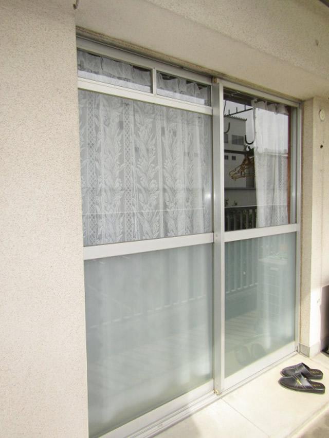 名古屋市守山区 公団住宅 袋型網戸 取付工事 施工前