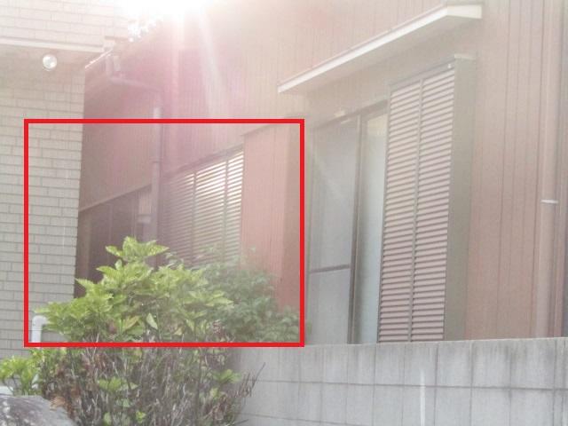 名古屋市港区 木製サッシ→アルミサッシ リクシル 内付RSⅡ PG障子 4枚建 施工後