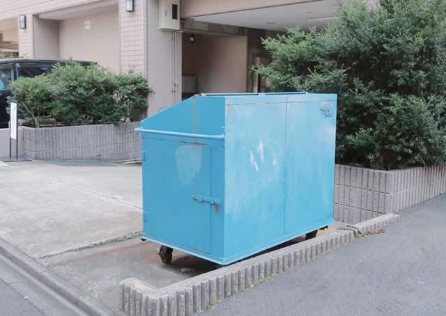 名古屋市中区 マンション ゴミ置場 撤去・新設工事 施工前