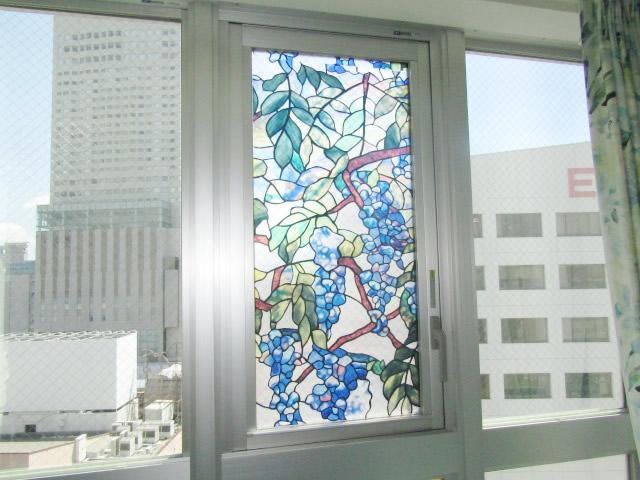 名古屋市中区マンション 収納網戸 アコーディオン網戸 アルマーデⅢ 片引き 施工前