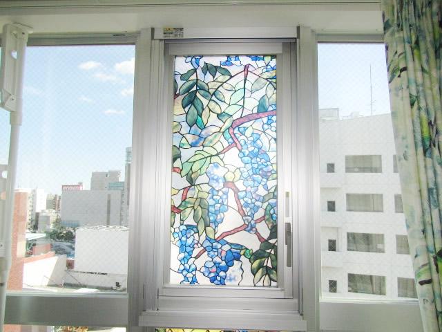 名古屋市中区マンション 収納網戸 アコーディオン網戸 アルマーデⅢ 片引き 施工中