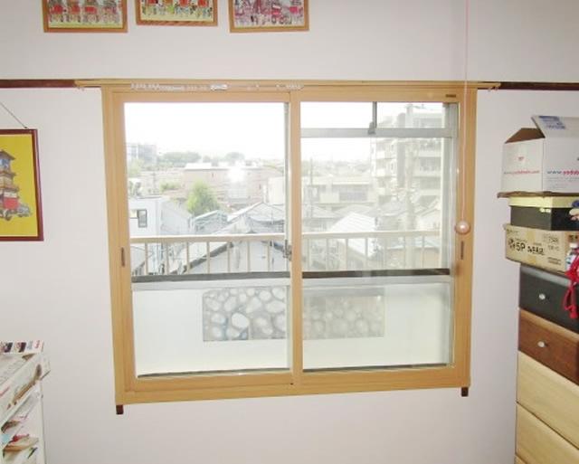 名古屋市緑区 リクシル インプラス Low-E複層ガラス グリーン(高遮熱型)取付け工事 施工後