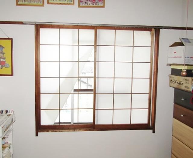 名古屋市緑区 リクシル インプラス Low-E複層ガラス グリーン(高遮熱型)取付け工事 施工前