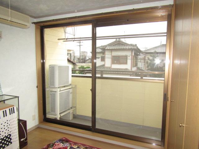 名古屋市千種区 リクシル インプラス 内窓取り付け工事 施工前