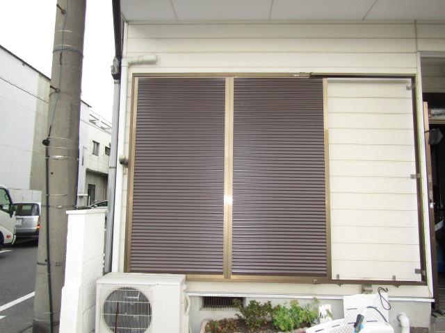 名古屋市南区 ルーバー雨戸取り替え工事 施工後