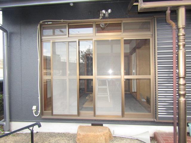名古屋市港区 サッシ取り替え カバー工法 施工前