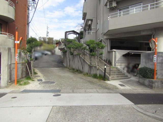 名古屋市天白区 カーブミラー設置工事 施工後