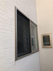 名古屋市守山区 面格子 窓 取り付け前