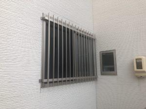 名古屋市守山区 面格子 窓 取り付け後