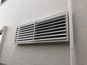 豊田市 窓リフォーム 目隠しルーバー施工事例