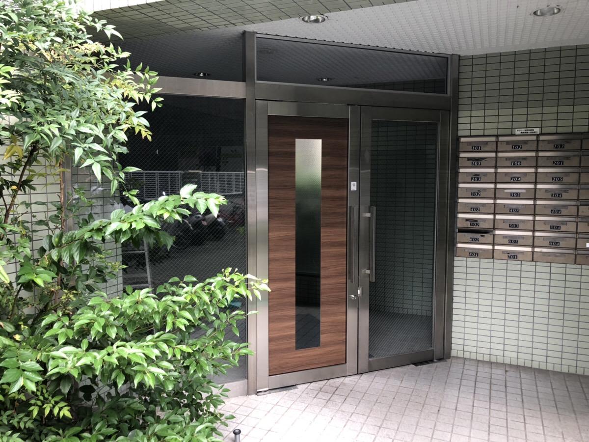 名古屋市東区 マンション玄関ドア リフォーム工事完了しました!