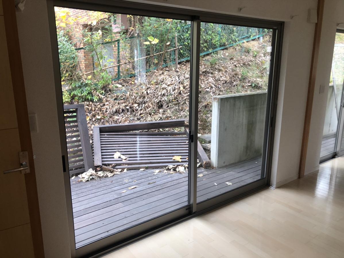 名古屋市千種区 空き巣被害 サッシ取替 カバー工事