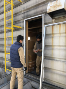 愛知県港区 工場 ドア取替工事