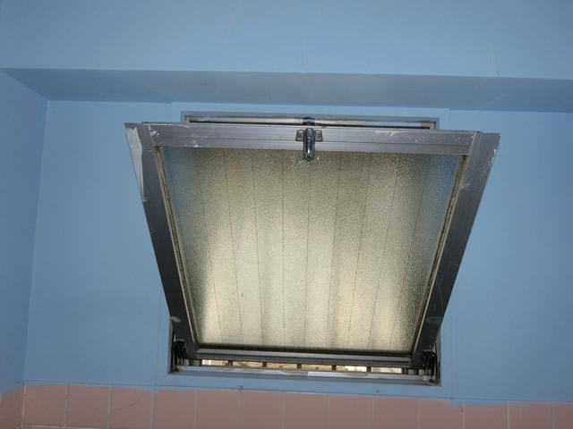 サッシ修理、補修 内倒し窓の開閉不具合 施工事例 名古屋市瑞穂区