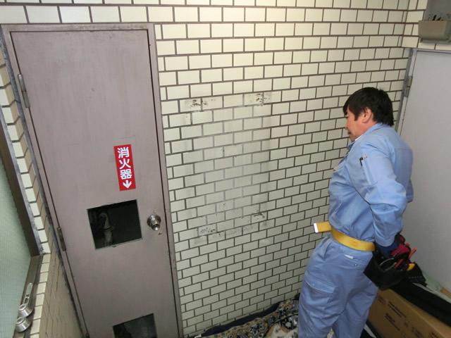 マンション集合ポスト取替工事 施工事例 名古屋市昭和区
