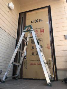 名古屋市緑区LIXIL(リクシル)ドアリフォーム リシェントⅢ(カバー工法)施工事例